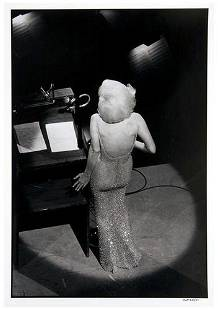 Bill Ray (b. 1936) Marilyn Monroe Singing Happy Bi