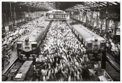 30: Sebastiao Salgado (b. 1944) Churchgate Station, Bo