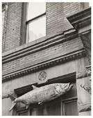 43: André Kertész (1894-1985) Fish Sign, New York City