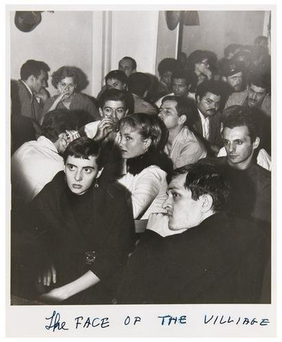 46: Weegee (1899-1968) The Face of the Village, ca. 19
