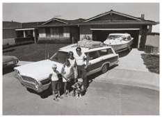 139: Bill Owens (b. 1938) Untitled (Family with Station
