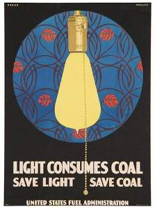 111: PHILLIPS, Clarence Coles  LIGHT CONSUMES COAL