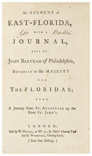 11: FLORIDA - [STORK, William]. An Account of East-Flo
