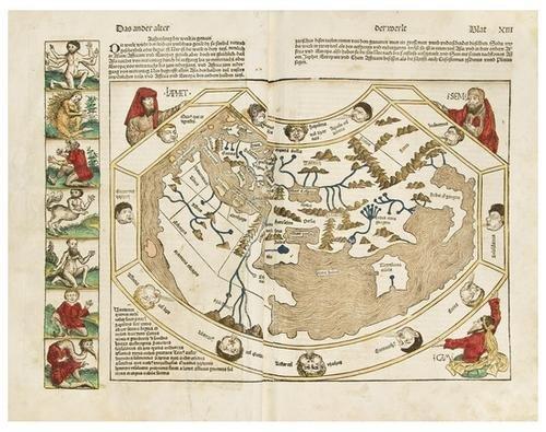 2: SCHEDEL, Hartmann (1440-1514).  Das Buch der Croni