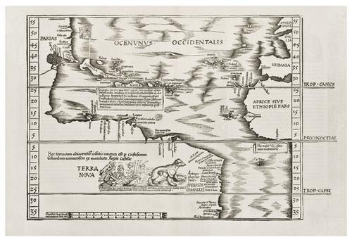 10: WALDSEEMUELLER, Martin (1470-1518?) --Laurent FRIE