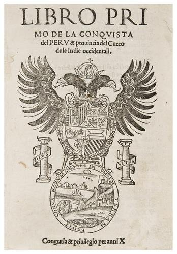 20: XEREZ, Francisco de. Libro primo de la conquista d