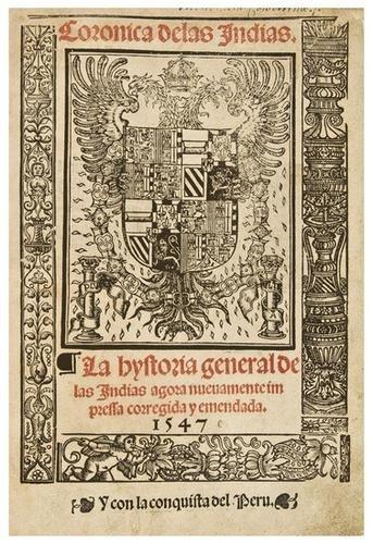 23: OVIEDO Y VALDÉS, Gonzalo Fernandez de (1478-1557)