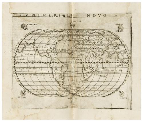 24: PTOLEMAEUS, Claudius  La Geografia... Con le tavol