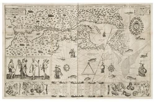 67: CHAMPLAIN, Samuel de, (1567-1635). Les Voyages du