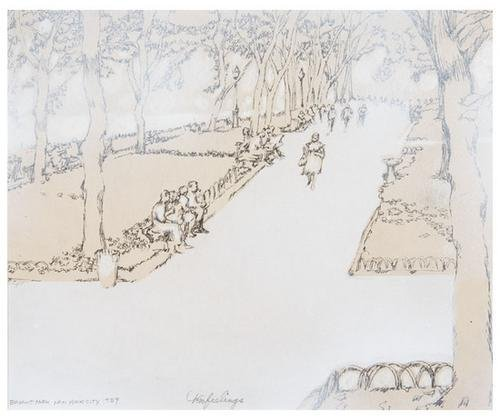 1: Tom FEELINGS (1933 - 2003). New York City drawings