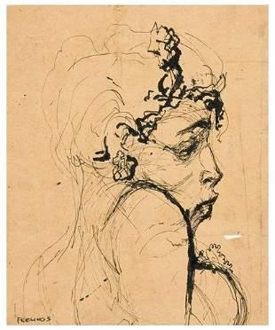 3: Tom FEELINGS (1933 - 2003). Drawings and studies f