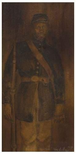 5: Tom FEELINGS (1933 - 2003). Civil War Soldier.