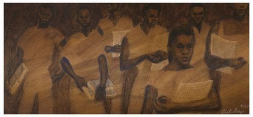 6: Tom FEELINGS (1933 - 2003). Black Students (Civil
