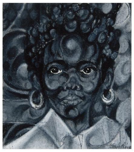 14: Tom FEELINGS (1933 - 2003). Guyanese Girl.