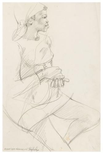 15: Tom FEELINGS (1933 - 2003). Guyana drawings.