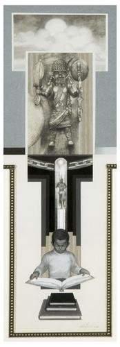 18: Tom FEELINGS (1933 - 2003). Untitled collage.