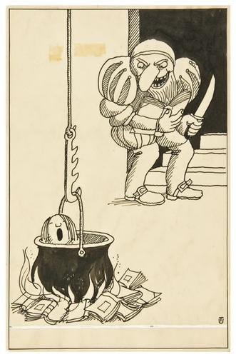 252: UNGERER, Tomi (b. 1931) Children's Book Show 1965/