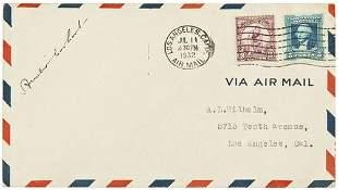 AVIATION -- Amelia EARHART (1897 - 1937). Autograp