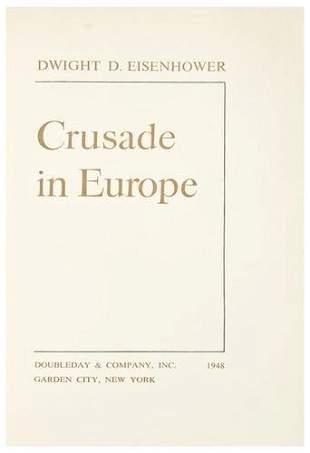 EISENHOWER, Dwight. Crusade in Europe.