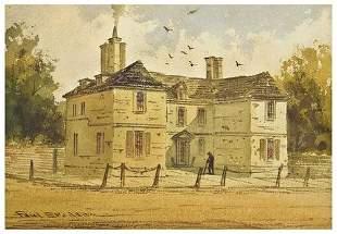 [WATERCOLORS-- WILLIAM PENN]. Paul Braddon (1864 -