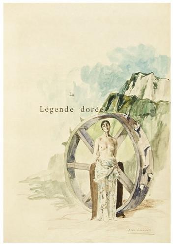 450: VORAGINE, Jacobus de and Alexandre LUNOIS (illustr