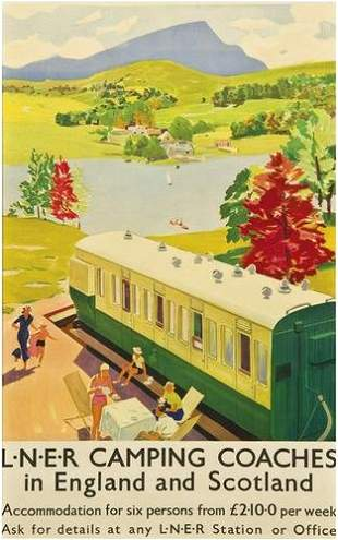 ANONYMOUS LNER CAMPING COACHES