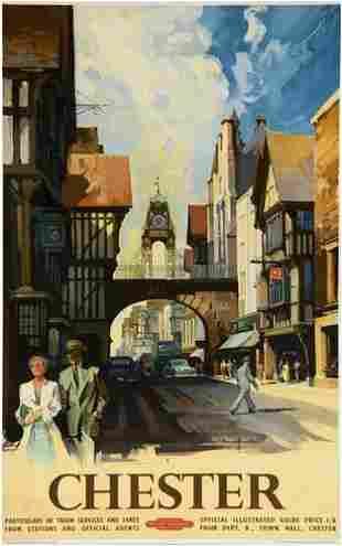 BUCKLE, Claude CHESTER, British Railways