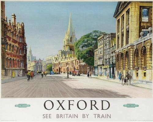 19: CARR-LINFORD, A OXFORD, British Railways