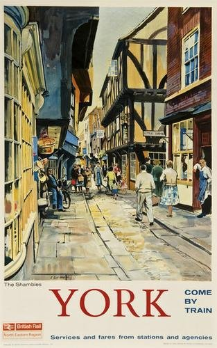 20: CARR YORK, The Shambles, British Railways