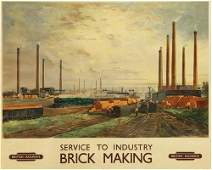 28 CUNDALL BRICK MAKING British Railways