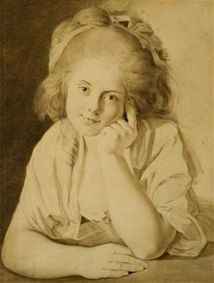 2: Attributed to Thomas Frye (1710-1762) Portrait of