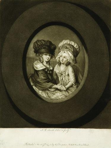 8: After John Raphael Smith (1752-1812) Les Deux Amis