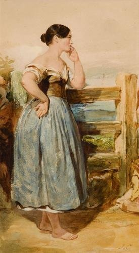 10: Joshua Cristall (1767-1847) At the fence