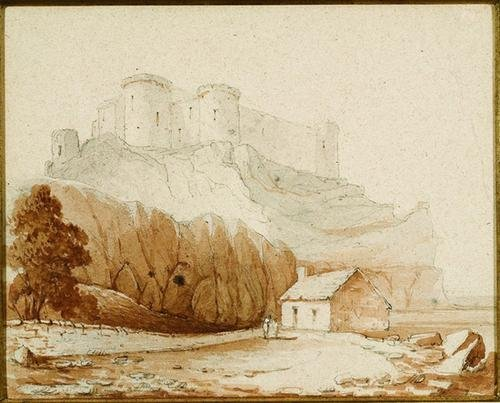11: William Daniell (1769-1837) A coastal view by a ca