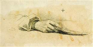 13: George Chinnery (1774-1852) Study of hands