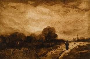 18: Peter De Wint, (1784-1849 ) Landscape