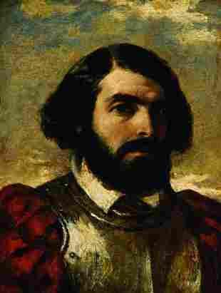 21: William Etty, (1787-1849) Captain Mario