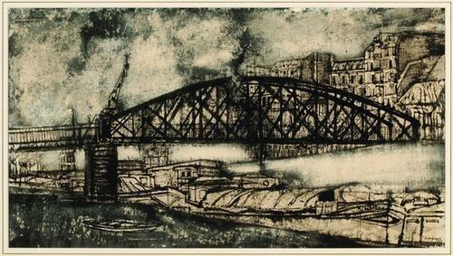 187: Renzo Vespignani (1924-2001) The bridge
