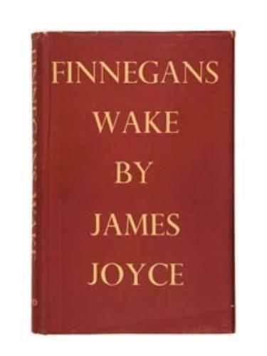 12: JOYCE, James (1882 - 1941)  Tall 8vo (240 x 155mm)