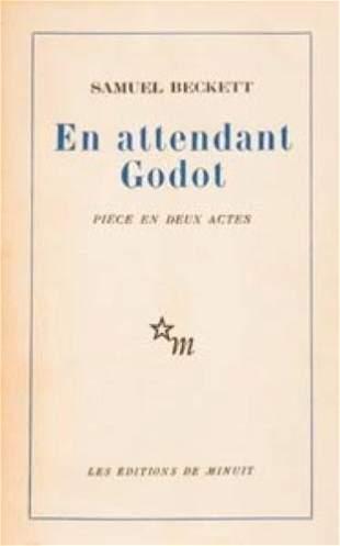 BECKETT, Samuel (1906 -- 1989) En Attendant Godo
