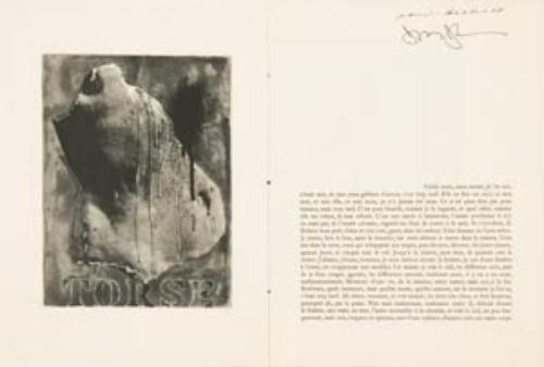 18: BECKETT, Samuel (1906 - 1989) and Jasper JOHNS (b.
