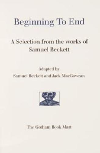 20: BECKETT, Samuel (1906 - 1989) and Edward GOREY (il
