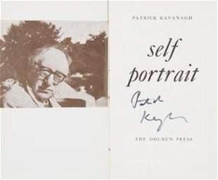 KAVANAGH, Patrick (1904 - 1967) Self Portrait. D