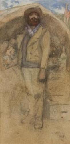 31: Jack Butler Yeats (1871-1957)  The Hard Stuff. Wat