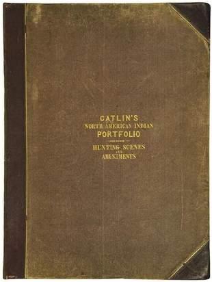 CATLIN, George (1796-1872). Catlin's North America