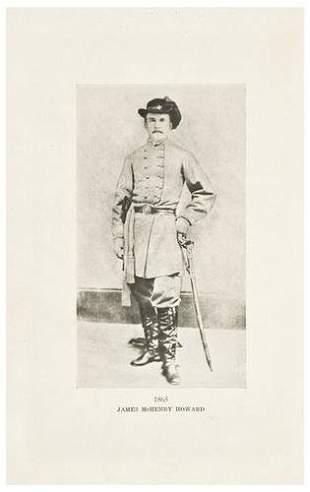 CIVIL WAR - SMITH, Tunstall. James McHenry Howard