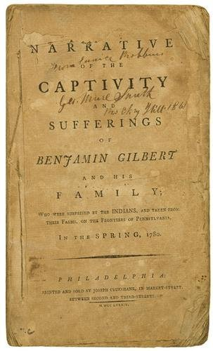 20: [WALTON, William] -- Benjamin GILBERT. A Narrative