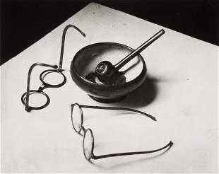 """André Kertész (1894-1985) """"Mondrian's Glasses and"""