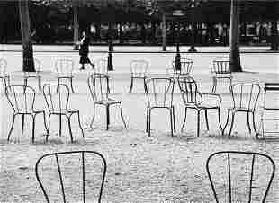 """André Kertész (1894-1985) """"Chairs of Paris, 1927"""""""