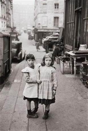 "Édouard Boubat (1923-1999) ""Place Maubert, Paris,"